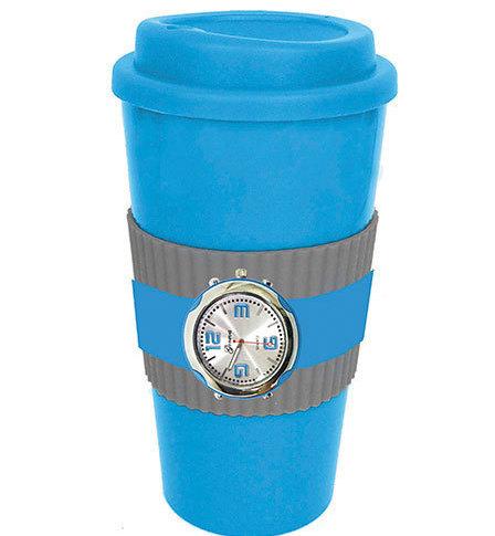 Image 0 of Blue Mug & Watch Gift Sets New Has Both