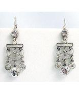 Victorian Style Earrings Swarovski Crystals Rep... - $34.00