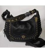 COACH Black Chelsea Abbey Laced Hobo 10971 NEW OBO Authenti - $399.99