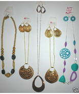 WHOLESALE LOT 15PC WOMENS JEWELRY NECKLACE EARRING SETS - $9.99