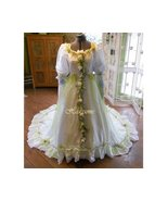 Vintage wedding dress gown fairy OOAK fantasy w... - $399.00