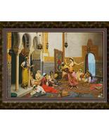 The Harem Dance, Cross Stitch Pattern - $50.00