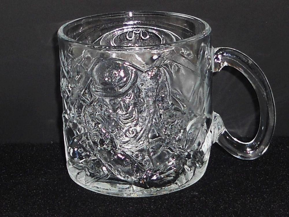 Batman Forever The Riddler Mug McDonald's glass 1995