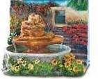 Country Garden Mini-Fountain (Table Top)