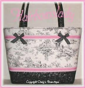 Black Pink Diaper Bag Tote Central Park Weekender Baby