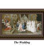 The Wedding, Cross Stitch Pattern - $42.00