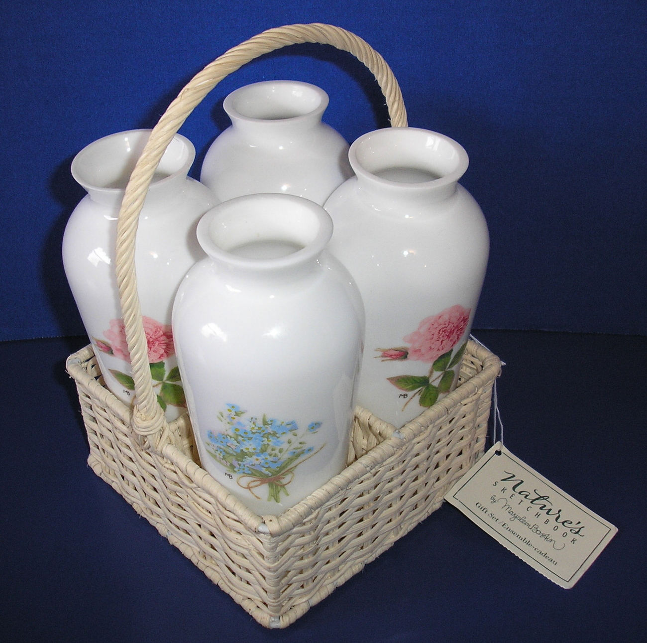 Buy hallmark gifts - Marjolein Bastin Ceramic Bud Vase Set Hallmark Gifts Natures Sketchbook Flowers