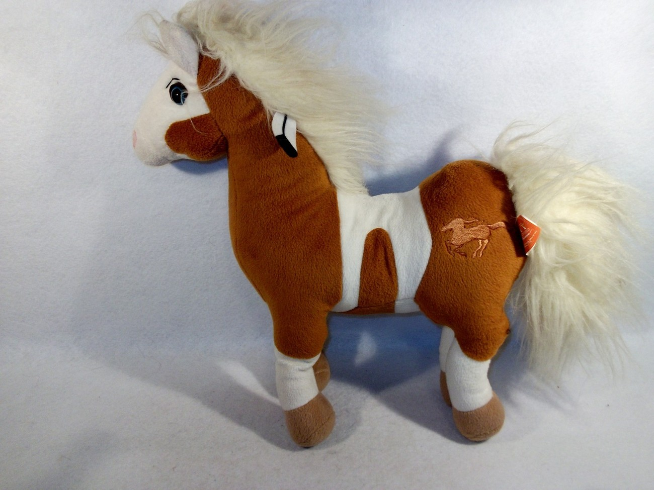 "2002 DreamWorks Spirit of Cimarron Rain horse Mare 16"" plush toy little creek"