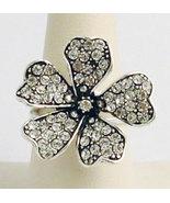 Swarovski Crystals Reproduction Ring Sz 7 - $41.00