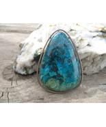 Vintage Israel Eilat Stone Sterling Silver Broo... - $200.00