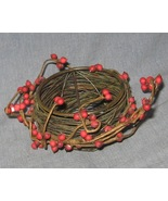 Metal Bird Nest Tea Light Candle Holder with Re... - $5.00