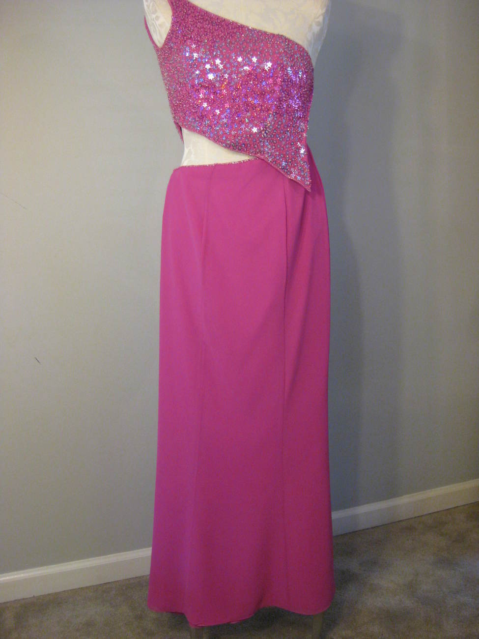 Fuschia Formal Outfit By Alyce Designs Size 2 NWT