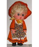 Vintage FIBA Blonde cute Girl Doll dressed 11