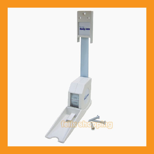 Measuring Scale Pole Rod : Stadiometer height rod scale measurement wall mount cm