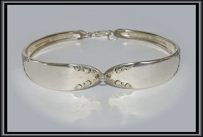 SILVERWARE Bracelet   KING EDWARD   Beautiful SIZE Medium