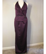 Formal Satin And Beaded Gown By Jordan Size 6 NWT - $68.00