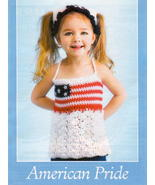 Cute Patriotic 4th of July Toddler Crochet Pattern - $3.00