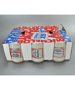1991 Budweiser Six Pack Mini Shot Glass Beer Mug Steins - $8.95