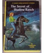 Nancy Drew #5 The Secret of Shadow Ranch Vintag... - $4.99