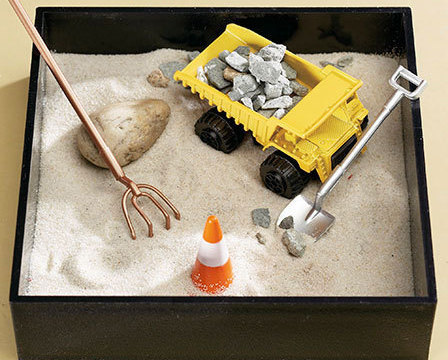 Big Dig Executive Mini Sandbox