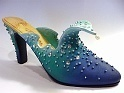 The Wave JTRS Raine - Perfect Mermaid Rhinestones Pearls Just the Right Shoe New