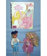 Lady Lovely Locks Ballerina Doll and Prince Strongheart Doll plus book - $22.00