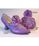 Opulent Shoe Set Plus Purse QVC Exclusive Purpl... - $99.99