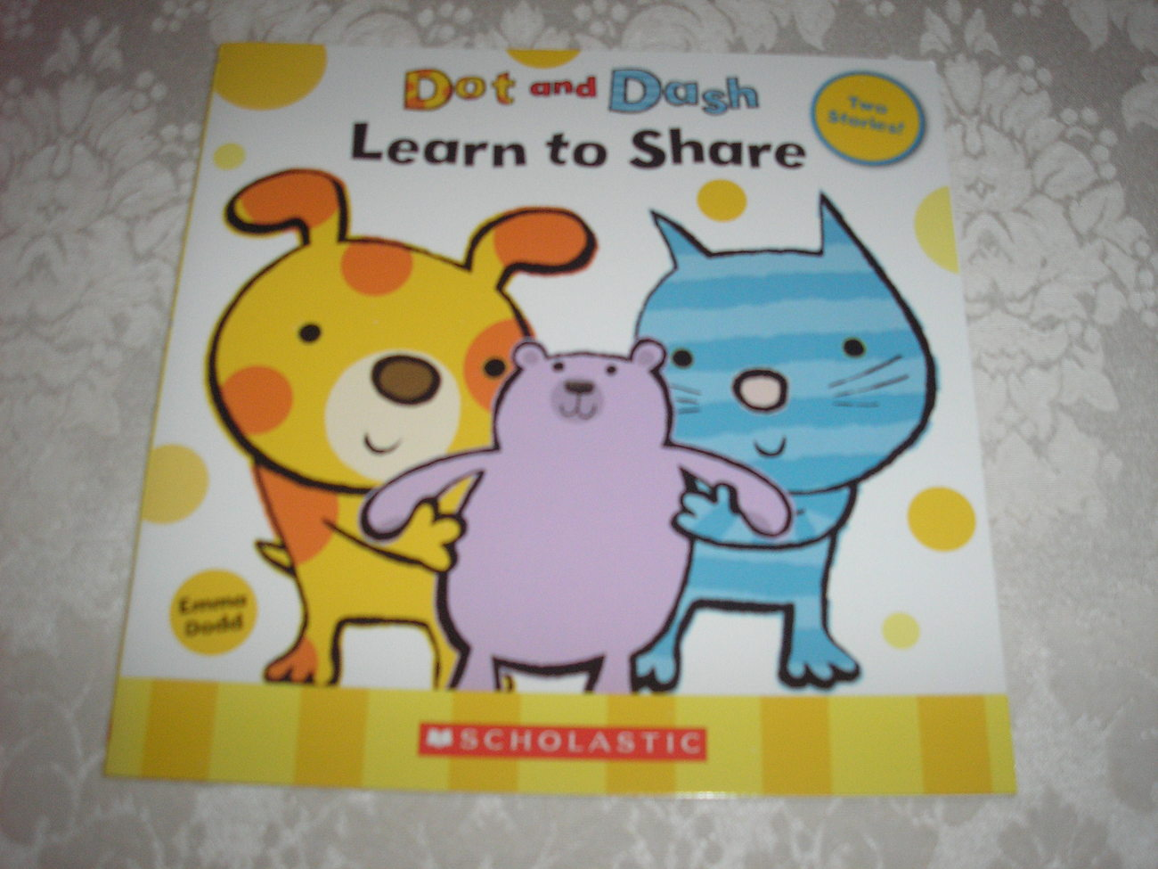 Dot and Dash Learn to Share Emma Dodd brand new sc One Penny Combine Ship