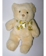 Vintage 1987 Heartline Teddy Bear Tan Beige Bea... - $24.97