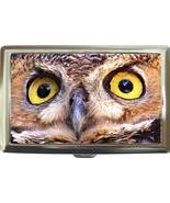 GREAT HORNED OWL GORGEOUS CIGARETTE MONEY CARD ... - $16.99