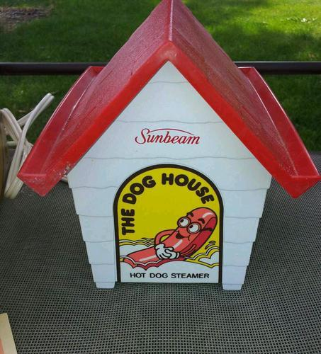 Vintage Sunbeam hot dog steamer The Dog House