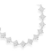 16 Inch CZ Diamond Shaped Necklace - $319.95