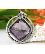 Vintage_purple_amethyst_silver_pendant_handcrafted_cushion_cut_thumbtall