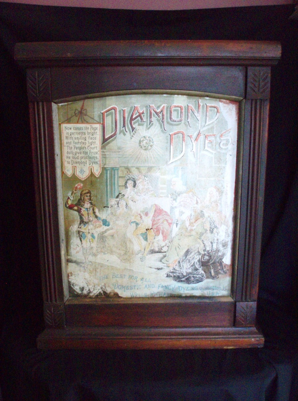 Diamond Dye Cabinet Burlington VT Court Jester King Antique