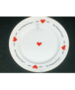 The Pampered Chef Hearts Plate 1999 Doris Chris... - $8.97