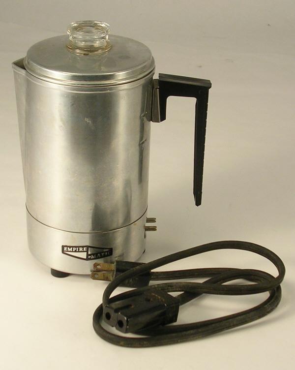 Coffee Maker Not Percolating : Empire Matic Coffee Pot a Vintage Percolator Coffee Maker - Coffee Makers