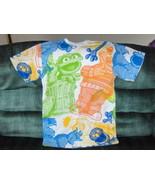 Sesame Street Shirt Grover Ernie Bert Cartoon P... - $14.97