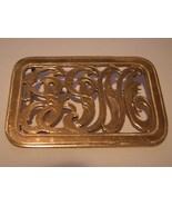 Monogram Pin Brooch 10k Yellow Gold  13.9 grams... - $369.00