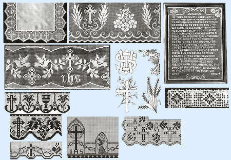 Crochet Animals, Dolls and Filet Patterns Crocheted - Christian
