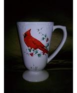 Pfaltzgraff  Winterberry Cardinal Pedestal Mug ... - $10.00
