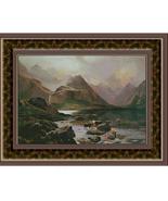 Isle of Skye, Scotland, Fine Art Counted Cross ... - $45.00