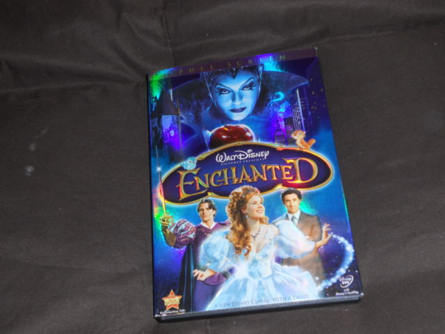 Enchanted DVD bought from Disney Movie Club only watched couple of times
