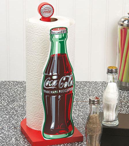 Coca-Cola Paper Towel Holder