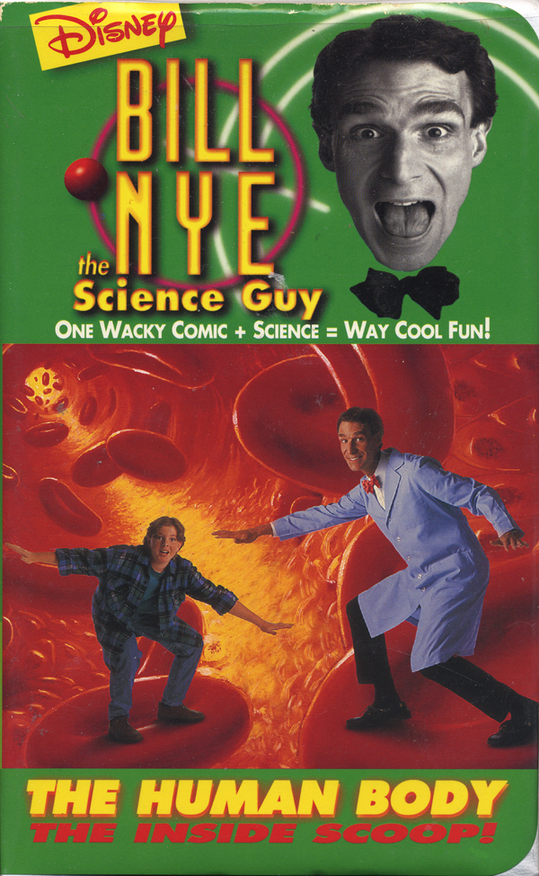 Bill Nye The Science Guy VHS The Human Body. Ask seller a question