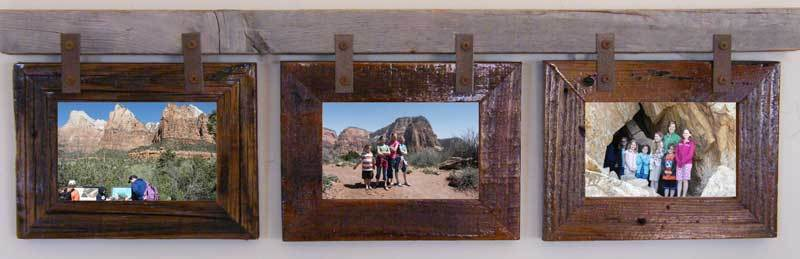 Montana Horizontal Conestoga Collage Frame for 3x 5 X 7