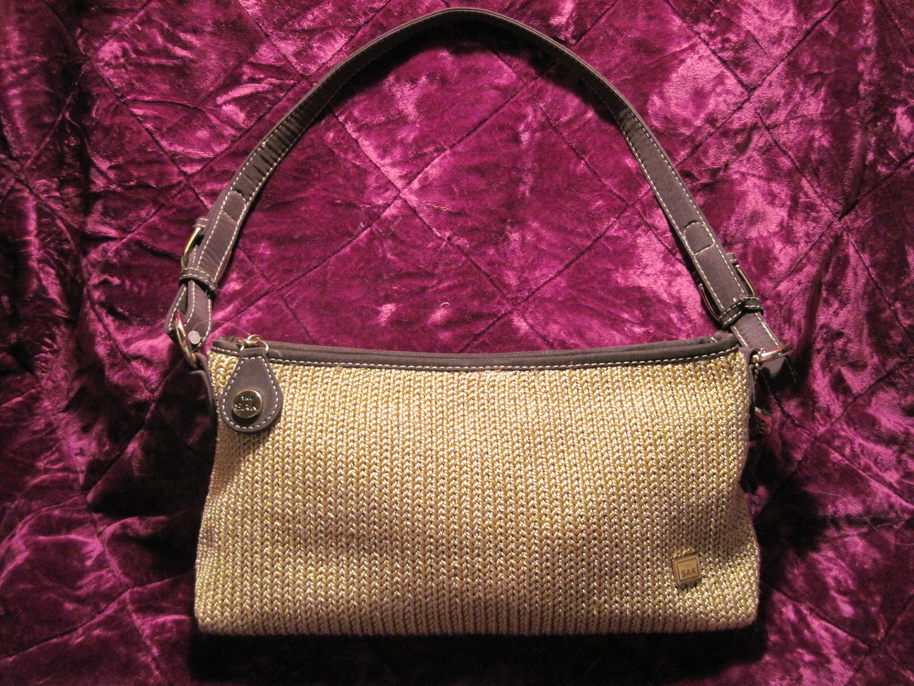 Le Sak Crochet Bags : Designer Leather handbags from The Sak The Sak Artist Circle Bags