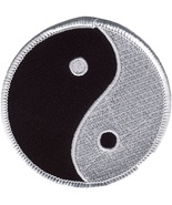 Embroidered Patch Yin Yang Patch - $3.22