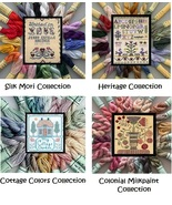 BUNDLE Kreinik Silk Mori Collections silk floss... - $130.24