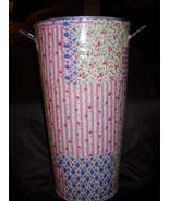 Shabby Cottage Chic Vase - Metal - $14.00