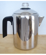 Farberware Stainless Stovetop Percolator Coffee Pot - 4 - 8 Cup - $24.88